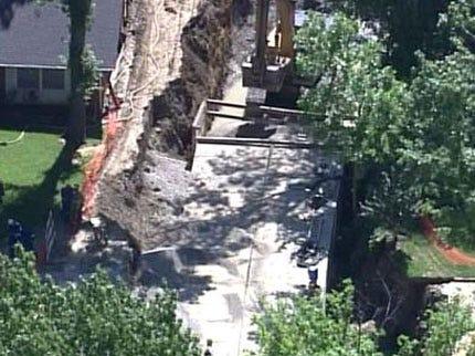 Tulsa Homes Evacuated Due To Cut Gas Line