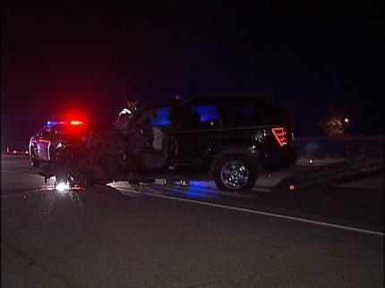 Sapulpa Accident Injures Woman