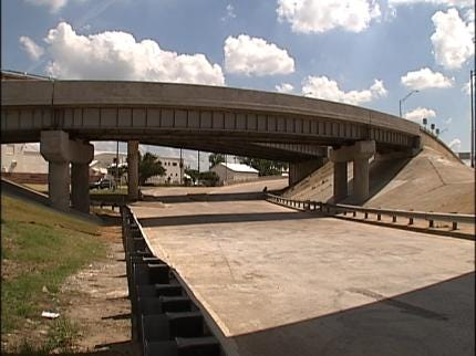 Highway Ramps Reopen Near Downtown Tulsa