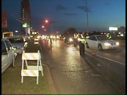 Police Cracking Down On Drunk Drivers