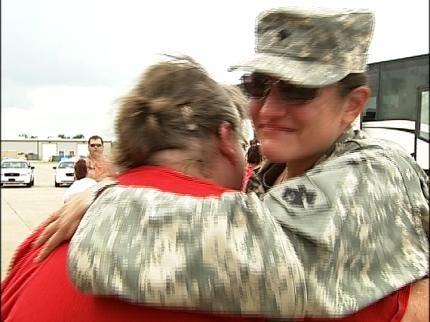 National Guardsmen Return Home From Iraq