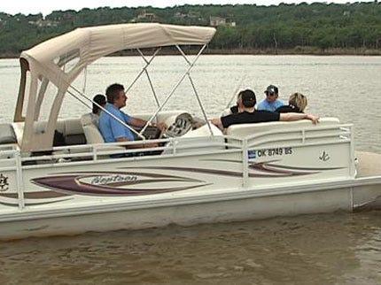Keystone Lake A Popular Memorial Day Destination