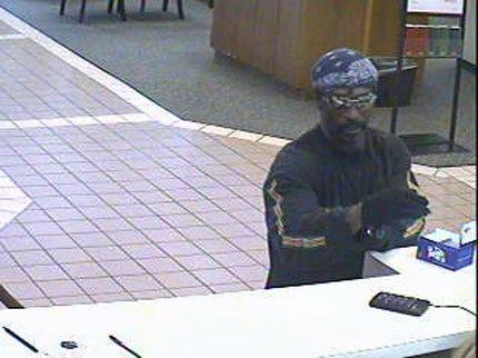 Hunt On For Tulsa Bank Robber