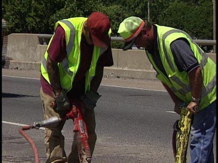 Bridge Work On I-244 Ahead Of Schedule