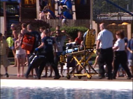 Boy Nearly Drowns At Big Splash