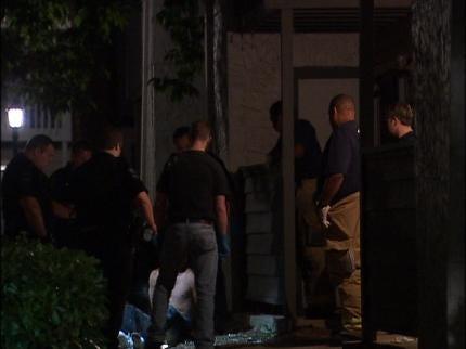 Domestic Dispute At Tulsa Apartment Complex
