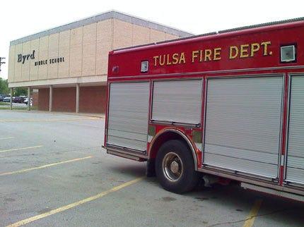 Carbon Monoxide At Tulsa Middle School