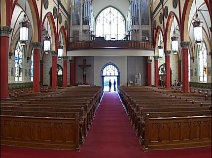 Tulsa's Holy Family Cathedral's New Look