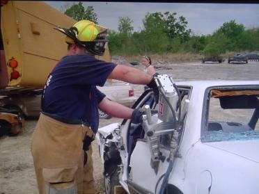 Firefighters Need Junk Cars for 'Jaws' Training