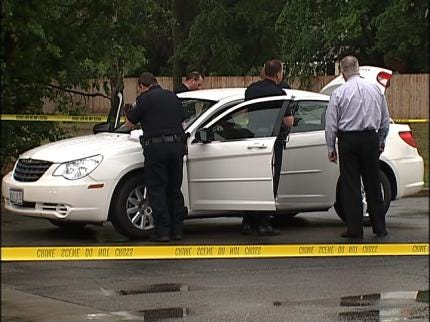 Self-Inflicted Gunshot Ends Bixby Standoff