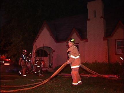 Smoke Alarm Awakens Tulsa Family