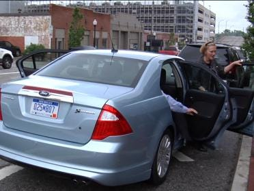Ford Shows New Fusion Hybrid To Tulsa