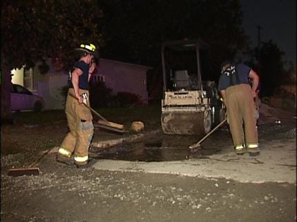 Tulsa Vehicle Fire Put Out Quickly