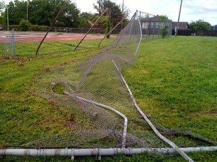Vandals Steal Track Hoe, Damage Bartlesville Park
