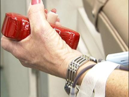 Blood Donations Down Nationwide, OBI Asking For Donors