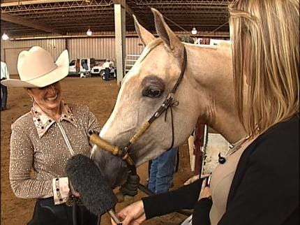 Opening Day At Tulsa State Fair Is All About The Horses