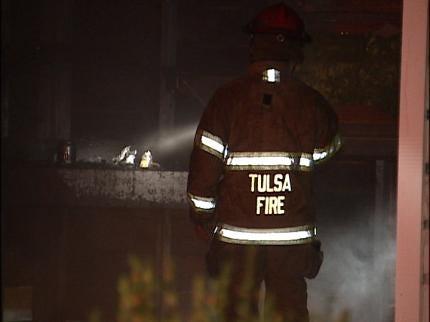 Meth Lab Sparks West Tulsa Fire