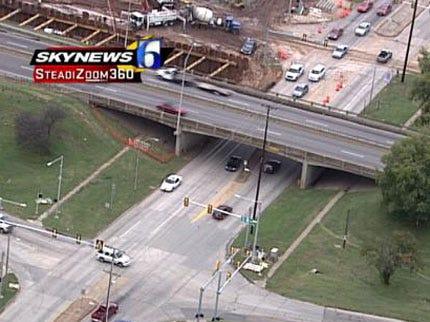 Tulsa's Peoria Avenue At I-44 Closed For Construction