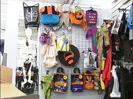 Halloween Costumes Available At Tulsa Goodwill Stores
