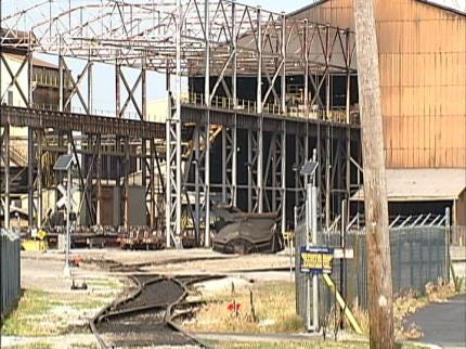 Sand Springs Steel Mill Idle - For Now