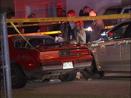 Suspect, Officer Identified In Tulsa Police Shooting