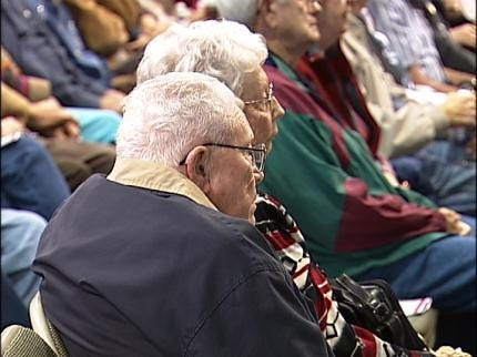 Couples Married 50 Years Recognized At Tulsa State Fair