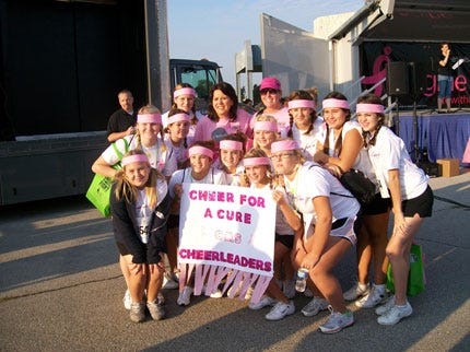 Successful Race For The Cure