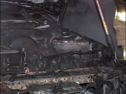 Tulsa Car Fire Under Investigation