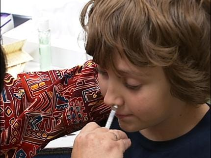 Sand Springs School Children Among First To Get H1N1 Vaccinations
