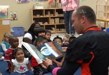 Volunteers 'Read for the Record' to Promote Literacy Worldwide