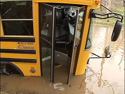 Flood Water Training Planned For TPS Bus Drivers