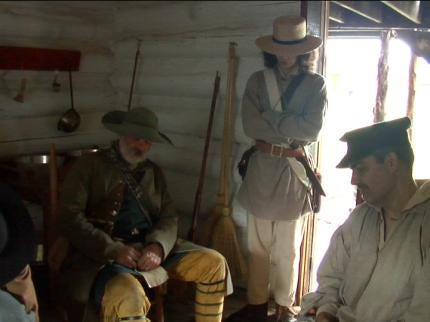 Reenactors Bring History To Life At Fort Gibson Historical Site