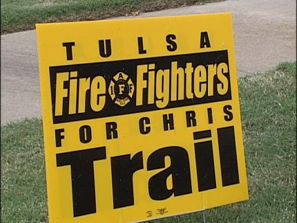 Tulsa City Councilors Claim The Firefighters' Union Is Violating The Law