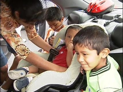 Tulsa Safe Kids Seat Giveaway A Big Success