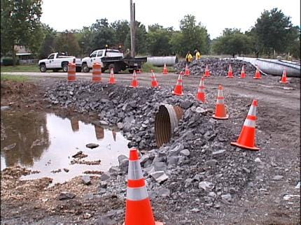 Salina Residents Pleased With Drainage Repairs
