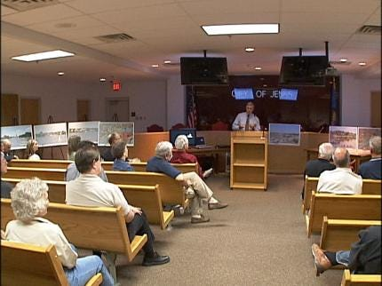 River Development Discussed In Jenks