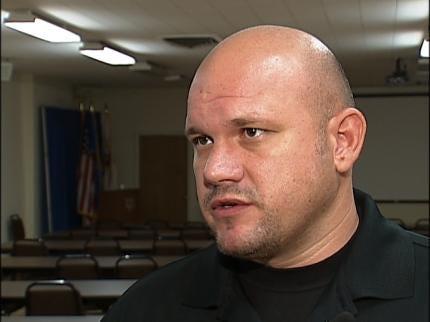 Shot 17 Times, An Arizona Lawman Shares Story With Tulsa County Deputies