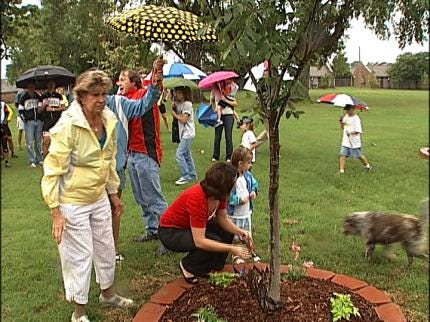 Trees Planted In Memory Of Tulsa Cyclists