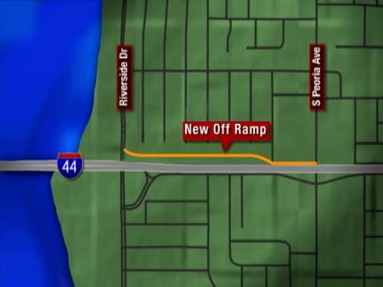 I-44 Widening Project Closes On-Ramp At Riverside