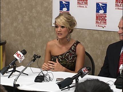 Carrie Underwood Discusses High School & New Album