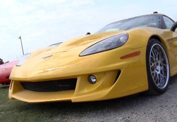 Corvette Caravan Rolls through Checotah