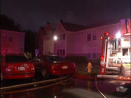 Lightning Strike Sparks Tulsa Apartment Fire