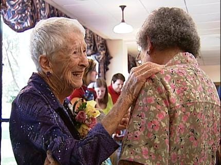 100-Year-Old Tulsan: Happiness Is Secret To Long Life