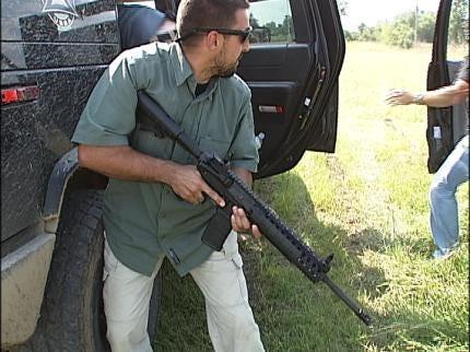 Elite Security Forces Begin Training Exercise In Tulsa