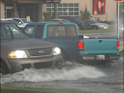 Severe Weather Moves Through NE Oklahoma