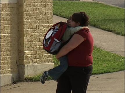 Sand Springs Child Gets Off At Wrong Bus Stop During Storm