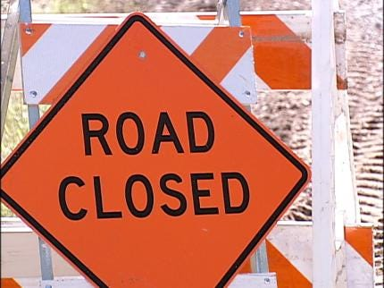 Thunderstorms Damage Wagoner Co. Roads This Week