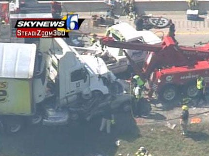 Truck Driver Charged In Fatal Turnpike Crash Appears In Court