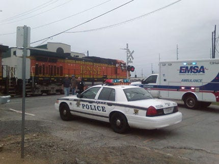 Man Hit By Train At 1st And Elwood In Tulsa