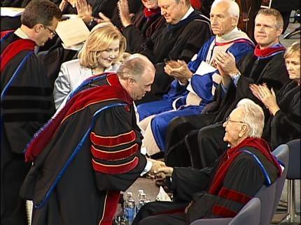 Dr. Mark Rutland Becomes ORU's Third President